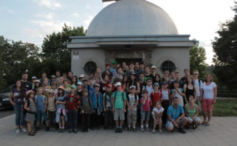 Astronomický tábor 2014 skončil