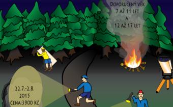 Astronomický tábor 2015: Černé lesy se bouří